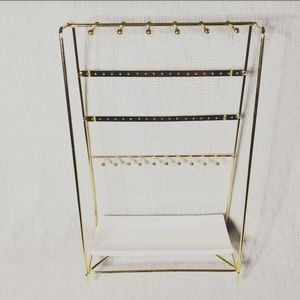 Gold Jewerly Stand
